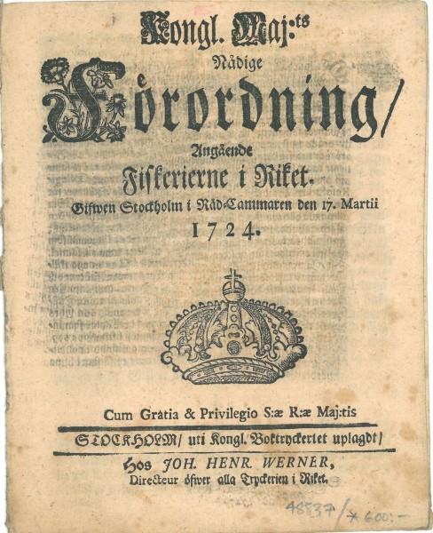 kalastuslaki 1724