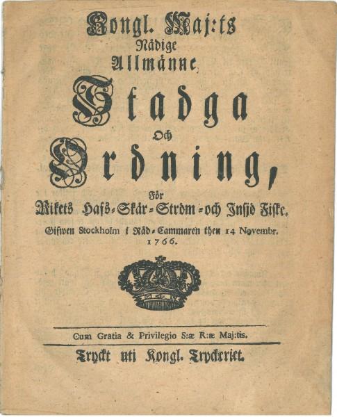 kalastuslaki 1766