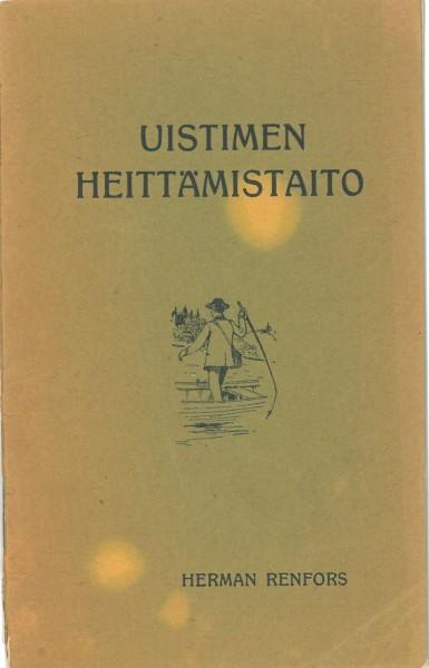 Harvinainen suomenkielinen opaskirjanen