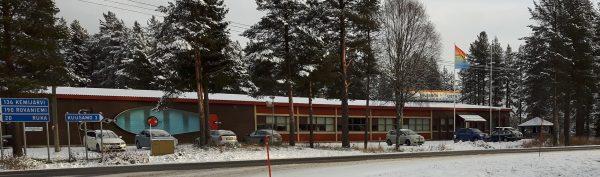 Kuusamon Uistin tehdasrakennus 2016. Kuva: Ari Savikko