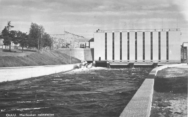 Merikosken voimalaitos 50-luvulla