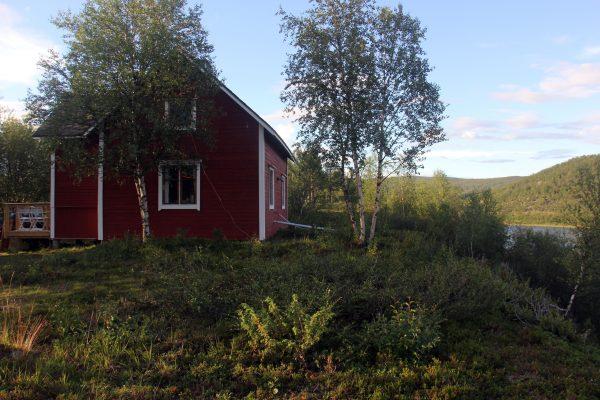 Törmälä on Kaavassa, Tenon rannalla. Kuva: Ari Savikko